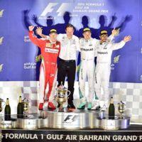 Nico Rosberg suma y sigue en el GP de Baréin de F1