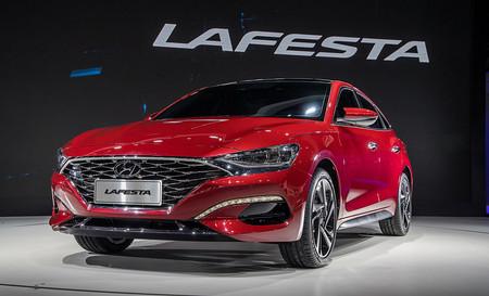Primeras imágenes del Hyundai LAFESTA: otro sedán más para la fiesta de modelos sólo para China