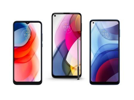 Motorola One 5G Ace, Moto G Stylus, Moto G Power y Moto G Play 2021: grandes pantallas y baterías, y hasta 5G para la gama media