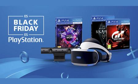 El pack de PlayStation VR incluye la cámara, PS VR Worlds y Skyrim VR o GT Sport por 299,99 euros por tiempo limitado
