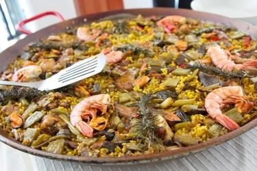 La verdadera receta de la paella. Debate en la feria Gastrónoma