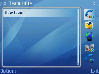 Nokia Team Suite para E61/E62