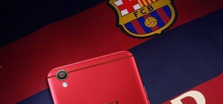 Primeras imágenes del OPPO R9 edición especial F.C. Barcelona