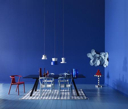 Diecisiete interiores en azul: una apuesta segura y adaptable para todas las temporadas del año