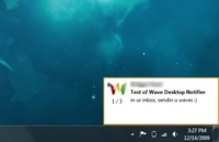 Google Wave Notifier: notificador para Windows