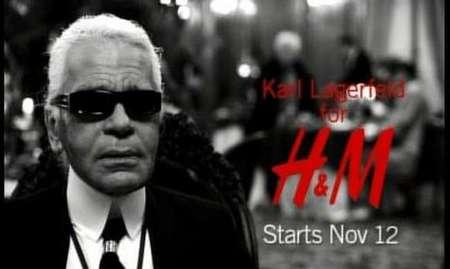 Karl Lagerfeld para H&M