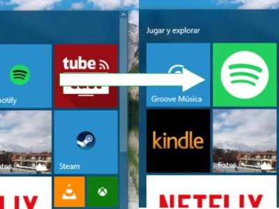 Cómo crear live tiles personalizadas para apps de escritorio en el Inicio de Windows 10