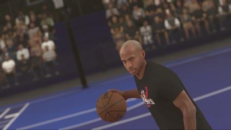 Thierry Henry deja el fútbol y se pasa al baloncesto como personaje en NBA 2K17