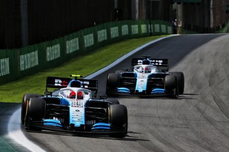 Kubica Russell Brasil F1 2019
