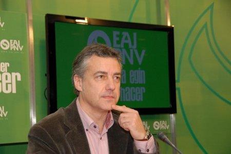 El presidente del PNV, Iñigo Urkullu, califica de parcheo la Ley Sinde