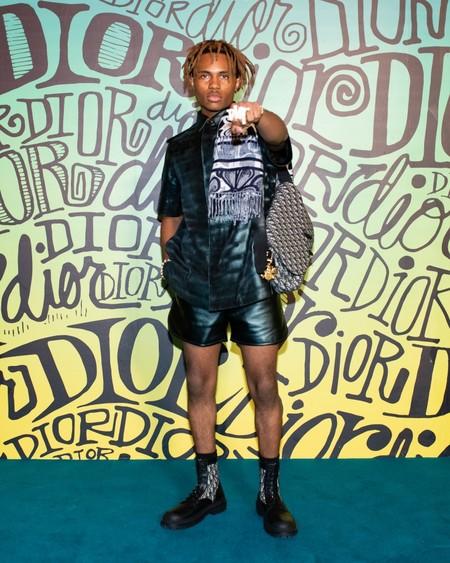 Kailand Morris Dior Fall 2020 3 12 19