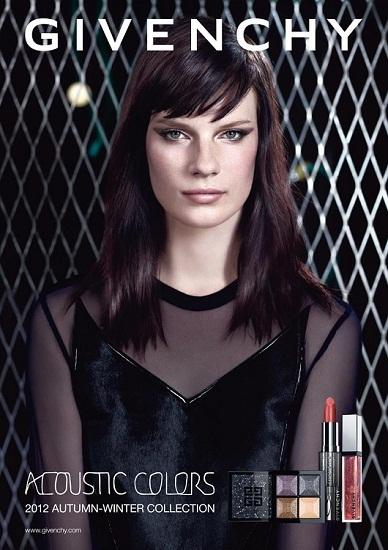 'Acoustic Colors', un avance del maquillaje Otoño-Invierno 2012 de Givenchy