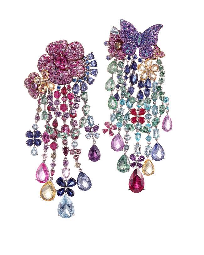 Rihanna Chopard Haute Joaillerie Collection Earrings 1