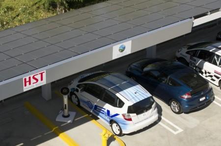 Honda Fit Ev Cargador Solar
