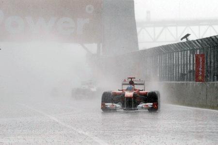 Fernando Alonso en el Gp de Canadá de F1 de 2011