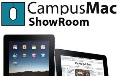 CampusMac mostrará el iPad en vivo el próximo sábado en Barcelona