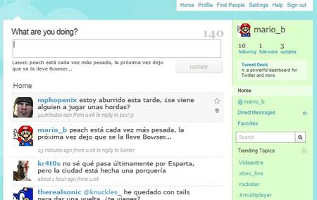 Las compañías de videojuegos y Twitter