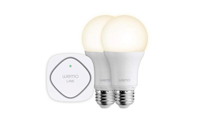 Nuevo pack de bombillas led inteligentes WeMo de Belkin