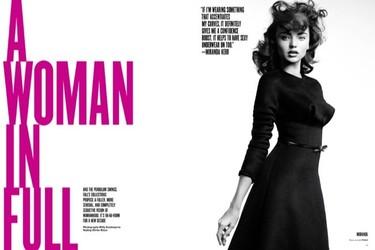 La mujer clásica, con curvas e inspirada en los 60: una moda cada vez más presente
