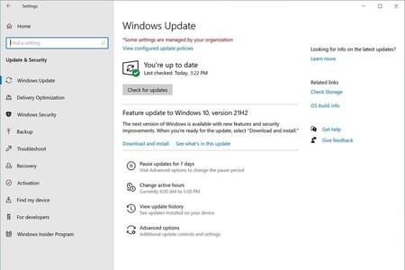 Con Windows 11 no se acaba el 10: estas son algunas de las novedades que llegarán a final de año con Windows 10 21H2