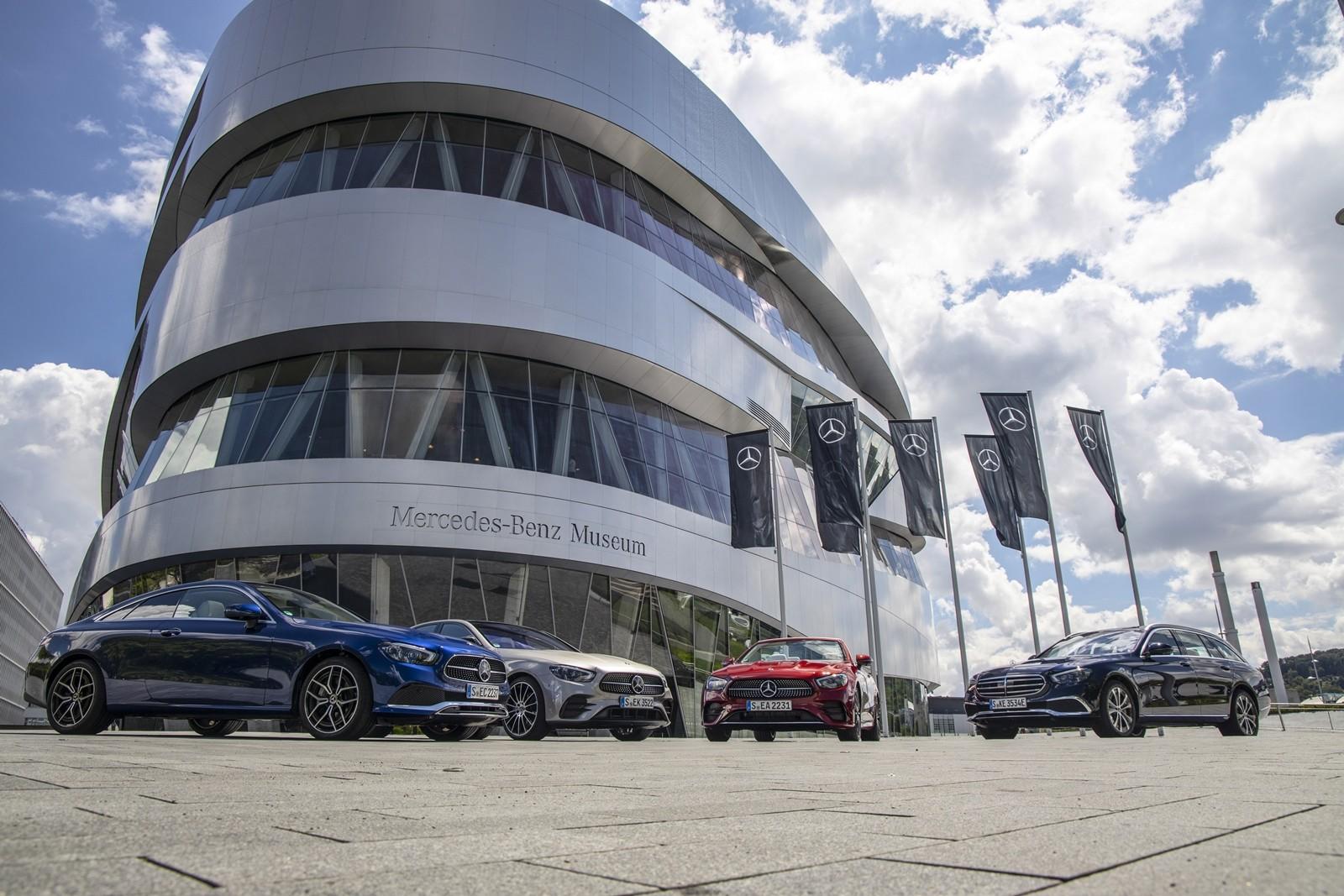 Mercedes-Benz Clase E 2020, prueba contacto