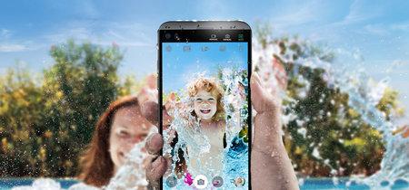 """LG Q8: con doble pantalla, doble cámara y protección IP68 es todo un LG V20 """"mini"""""""