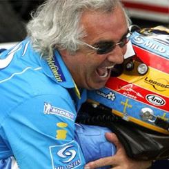 Flavio Briatore juega a comparar la Fórmula 1 con el fútbol