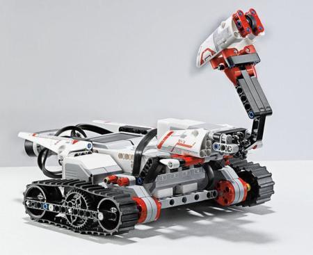 TRACK3R, robot programable con Lego Mindstorms EV3