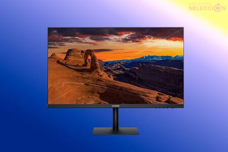 """Diseño sin bordes y protección contra la luz azul: el monitor HUAWEI Eye Comfort AD80 de 23,8"""" a 109 euros en Amazon, su mínimo"""