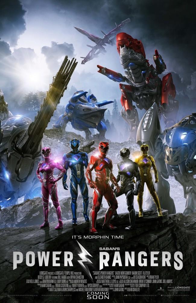 Los Power Rangers y sus Zords