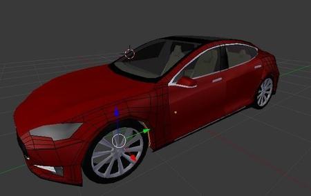 Simulador de ordenador para jugar con el Tesla Model S