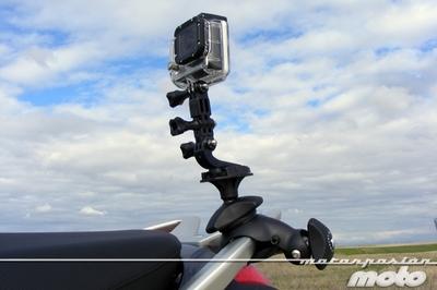 Multa por grabar en moto: la prueba en vídeo