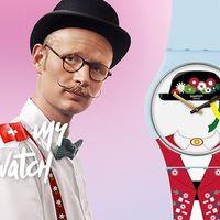 ¿Tienes ganas de cantar a las montañas? Saca el suizo que llevas dentro con el reloj Yodle de Swatch