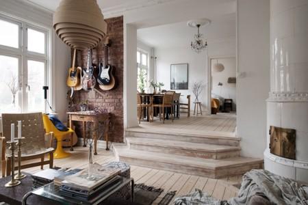 Te gusta el ladrillo visto 13 ambientes inspiradores en for Cocinas enteras