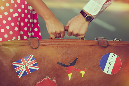 Love At First Flight Suitcase Edreams