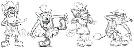Los orígenes de Crash Bandicoot explicados por sus creadores