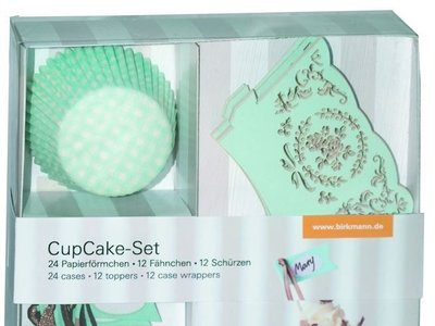 Juego de decoración de cupcakes rebajado en Amazon de 19,04€ a 7,97€ ¡En color verde menta!