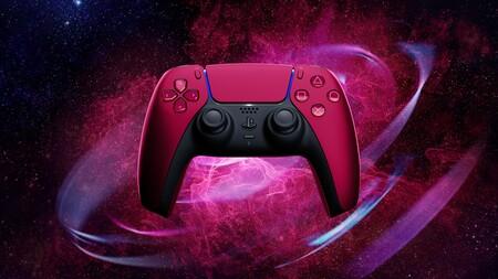 Nuevos Colores Control Dual Sense Ps5 Rojo Cosmico
