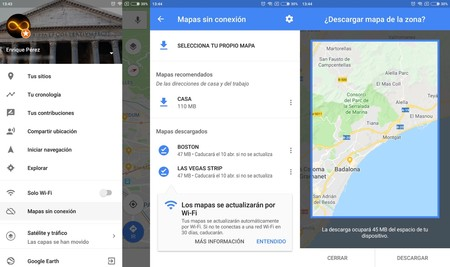 Descargar Mapas Offline Maps