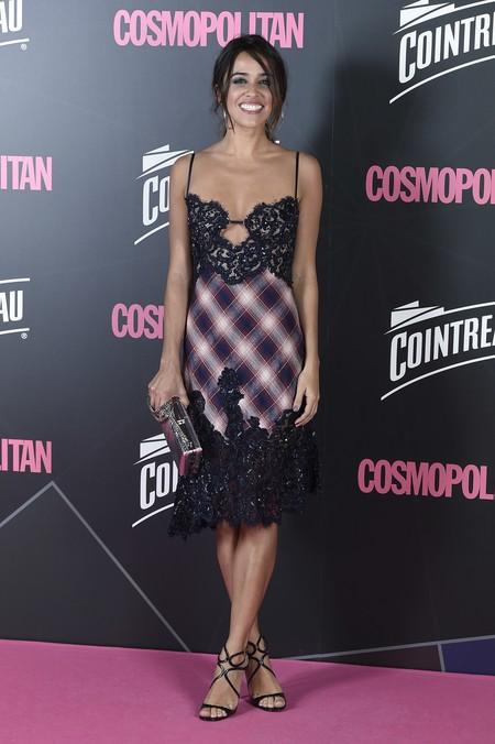 premios cosmopolitan 2017 alfombra roja look estilismo outfit Macarena Garcia