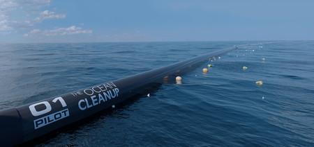 La estructura flotante para limpiar océanos va tomando forma: rediseñada para ser más eficiente y funcionar en 2018