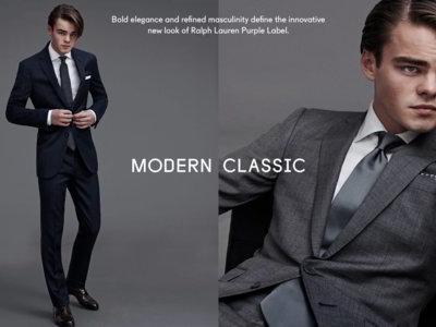 Konrad Annerud, el clon de Leonardo DiCaprio debuta en el modelaje con Ralph Lauren