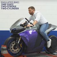 La Emula es una moto eléctrica con melodía clásica: puede sonar como una moto de cuatro cilindros y 600 cc