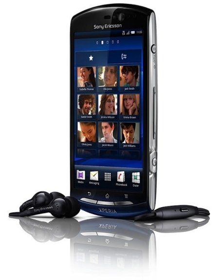 auriculares del Sony Ericsson Xperia Neo