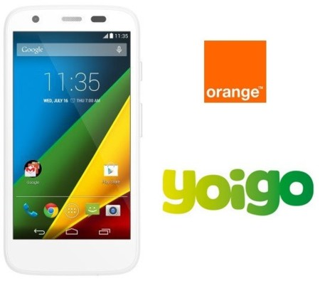 Motorola Moto G con LTE disponible en Orange y Yoigo