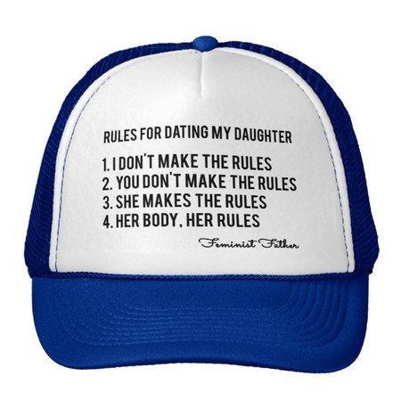Gorra para padres feministas