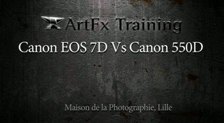 Comparando el vídeo de la Canon 550D y la Canon 7D