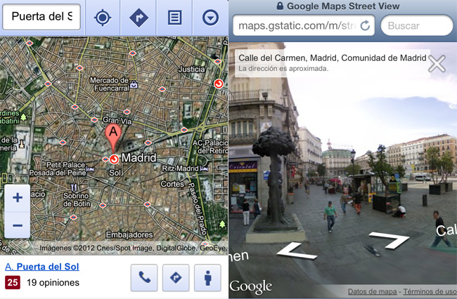 Google Street View iOS