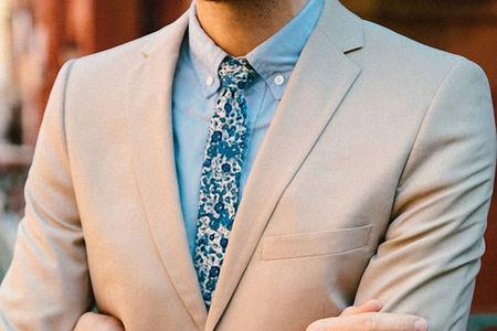 Primavera al cuello: 4 corbatas para agregar color al traje de cada día