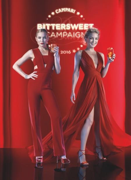 Kate Hudson es la absoluta y total protagonista del nuevo calendario Campari